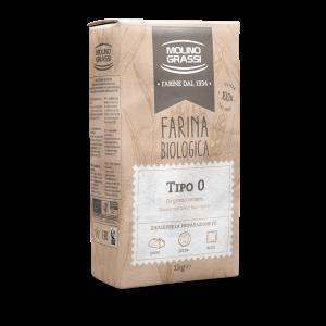 Farina 0 biologica molino grassi